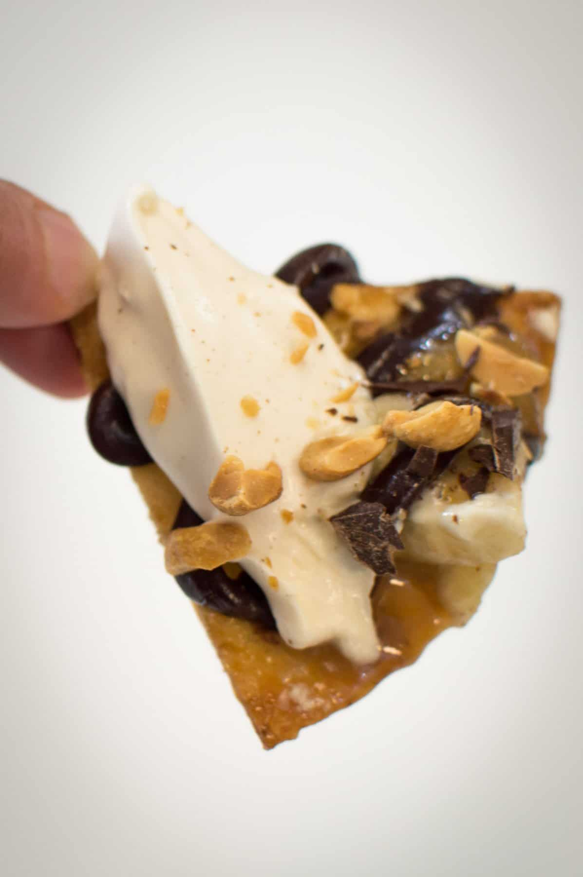 Chocolate Banana Dessert Nacho Chip