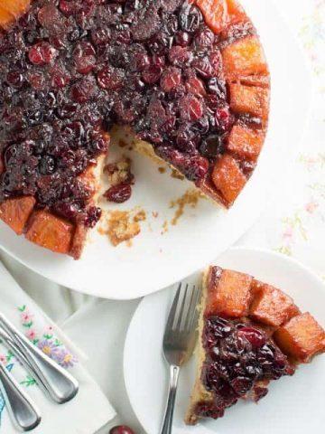 Cranberry Pineapple Upside Down Cake Thumbnail