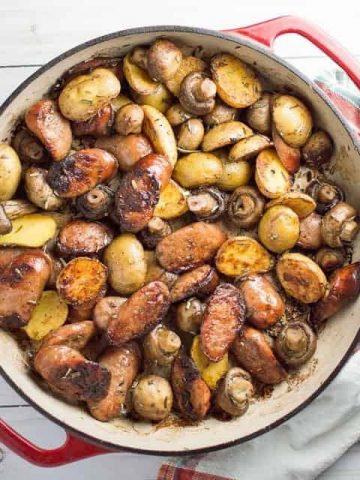 Rosemary Brown Butter Sausage Skillet Thumbnail