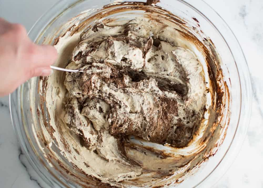 Mocha Oreo No Bake Dessert Layer 1 Step 3