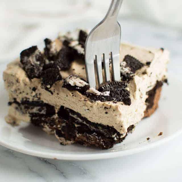 Mocha Oreo No Bake Dessert Thumbnail
