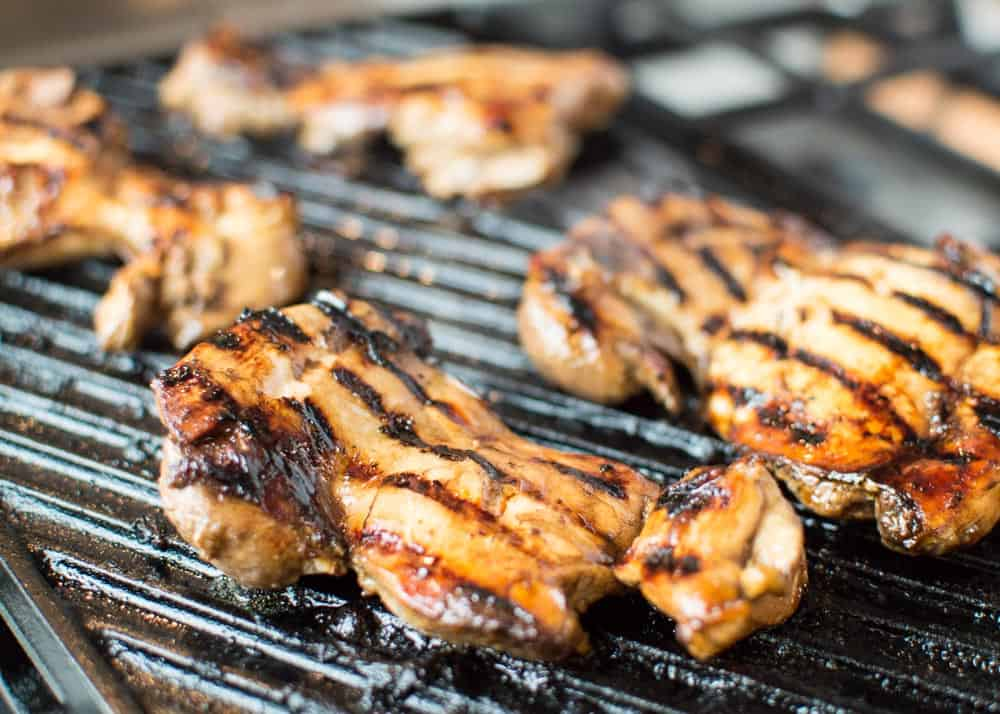 Easy Balsamic Marinated Chicken on Grill