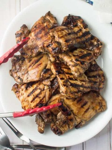 Easy Balsamic Marinated Grilled Chicken Thumbnail