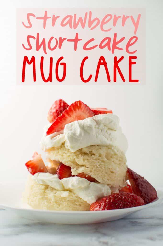 Strawberry Shortcake Mug Cake Pin