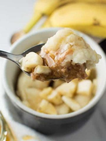 Honey Peanut Butter Banana Mug Cake Thumbnail