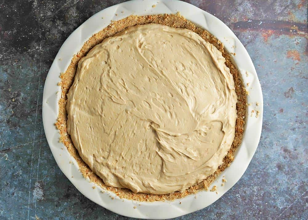 Cream Cheese Peanut Butter Filling in Pie