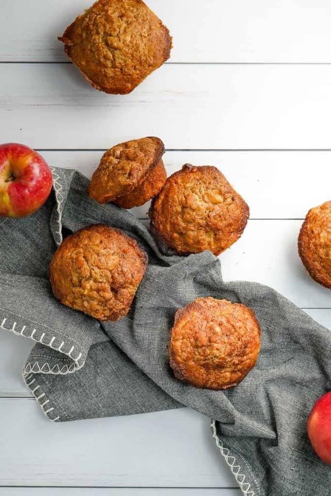 Brown Butter Apple Muffins