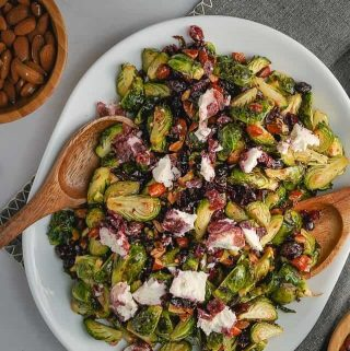 Brussels Sprout Salad with Cranberries Thumbnail