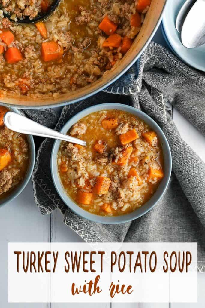 Turkey Sweet Potato Soup Pin
