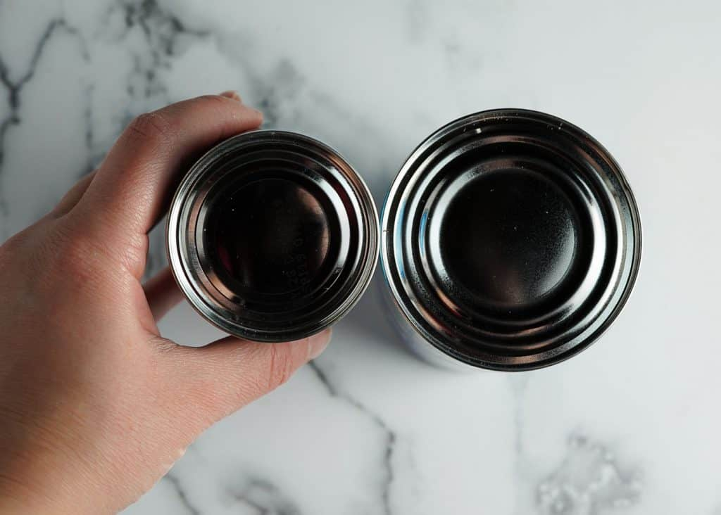 Comparing Canned Biscuit Sizes