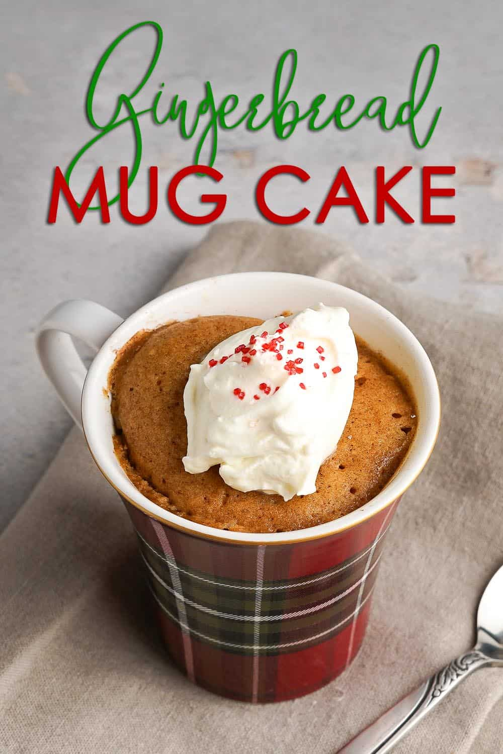 Gingerbread Mug Cake Pin