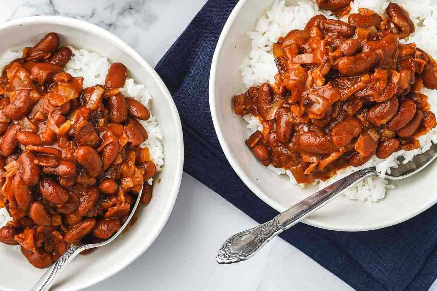 Quick Red Beans And Rice Nibble And Dine With Bacon