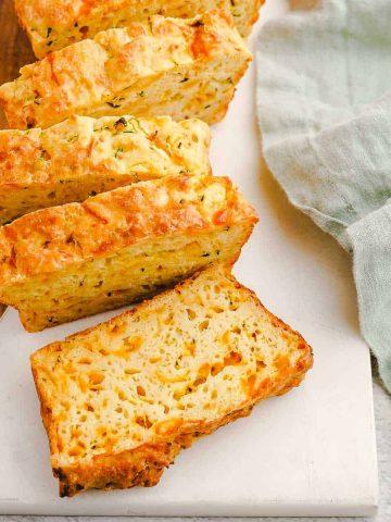 Zucchini Cheese Bread FI