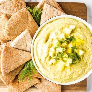 Dill Pickle Hummus FI