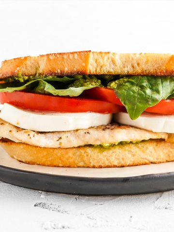 Chicken Caprese Sandwich FI