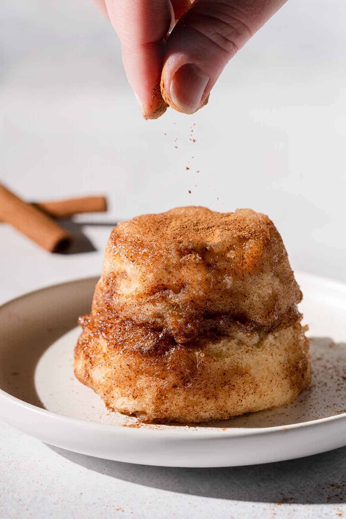 Snickerdoodle Mug Cake Nibble And Dine