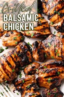 grilled chicken with text in the corner