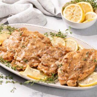 Lemon Butter Chicken FI