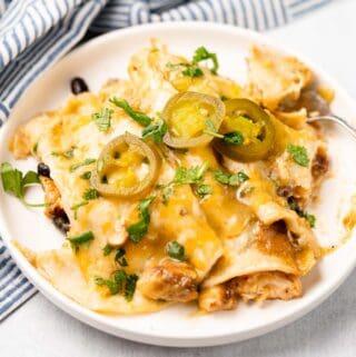 Chicken Skillet Enchiladas FI (2)