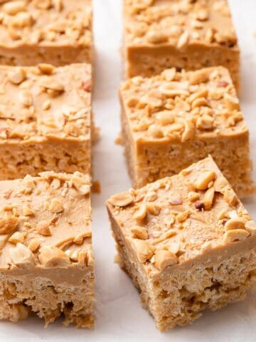 Peanut butter rice krispie treats FI