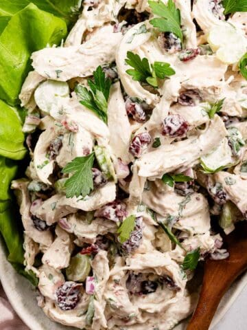 cranberry chicken salad FI